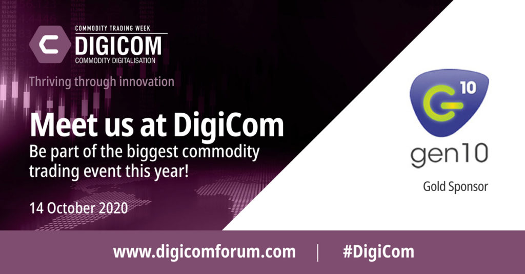 DigiCom commodity trading event