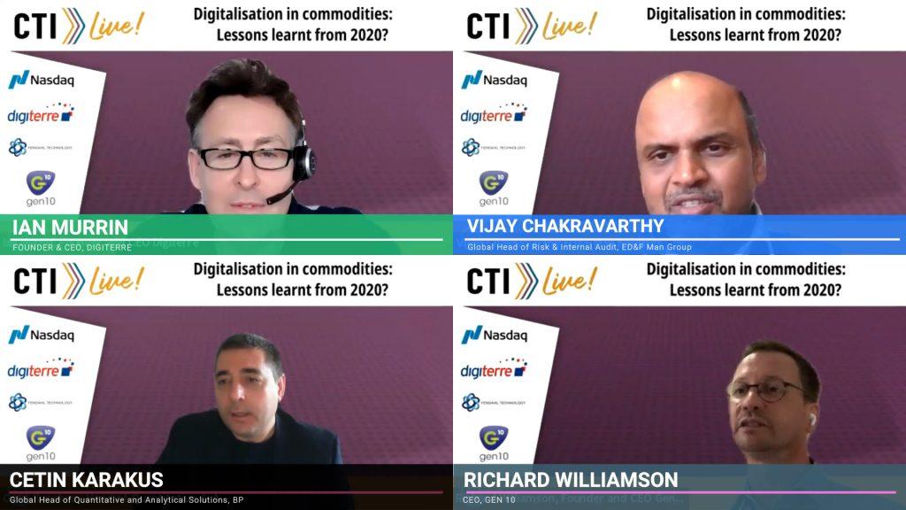 commodities digitalisation panel