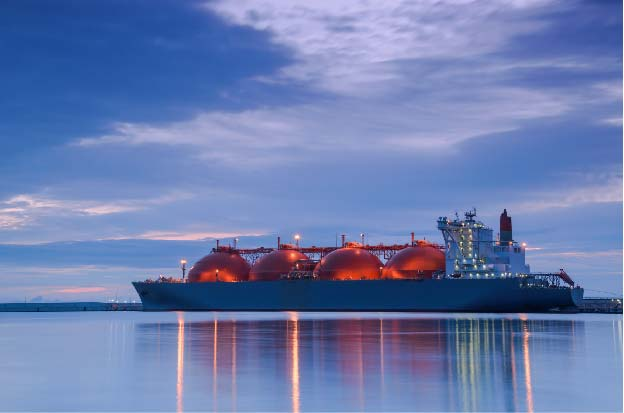 LNG supply and position visibility